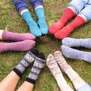 Curso online aprender a tejer calcetines